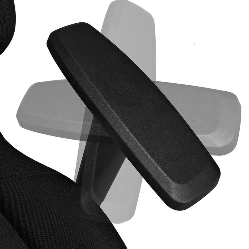 Fotel gamingowy AGURI+ czarny materiał