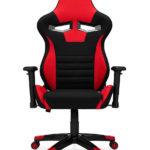 Fotel gamingowy AGURI+ czerwony materiał