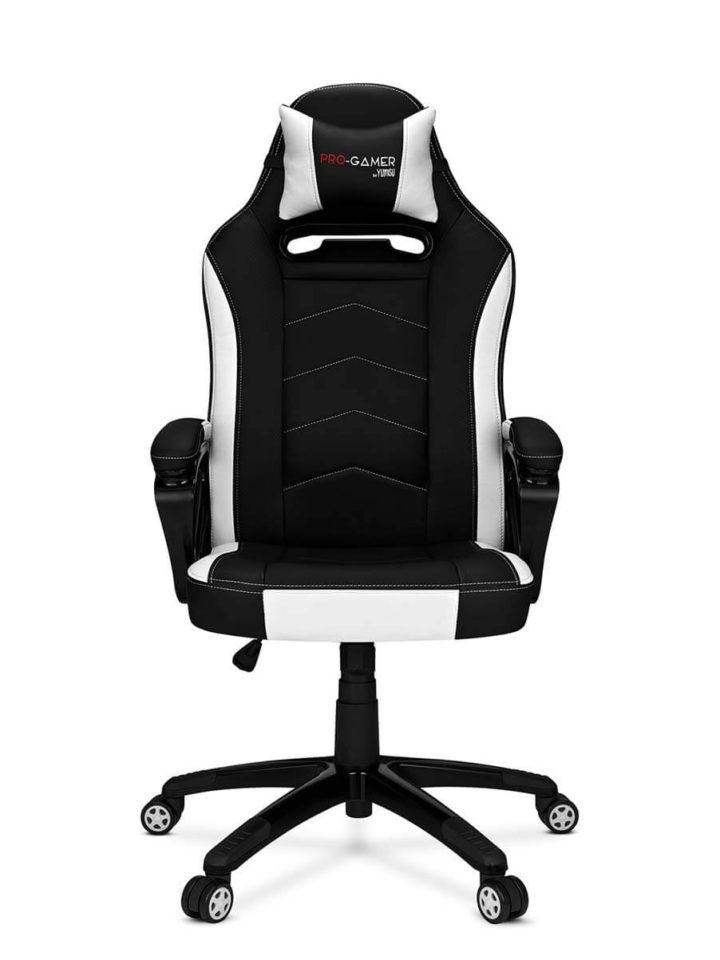 Fotel gamingowy ATILLA carbon biały