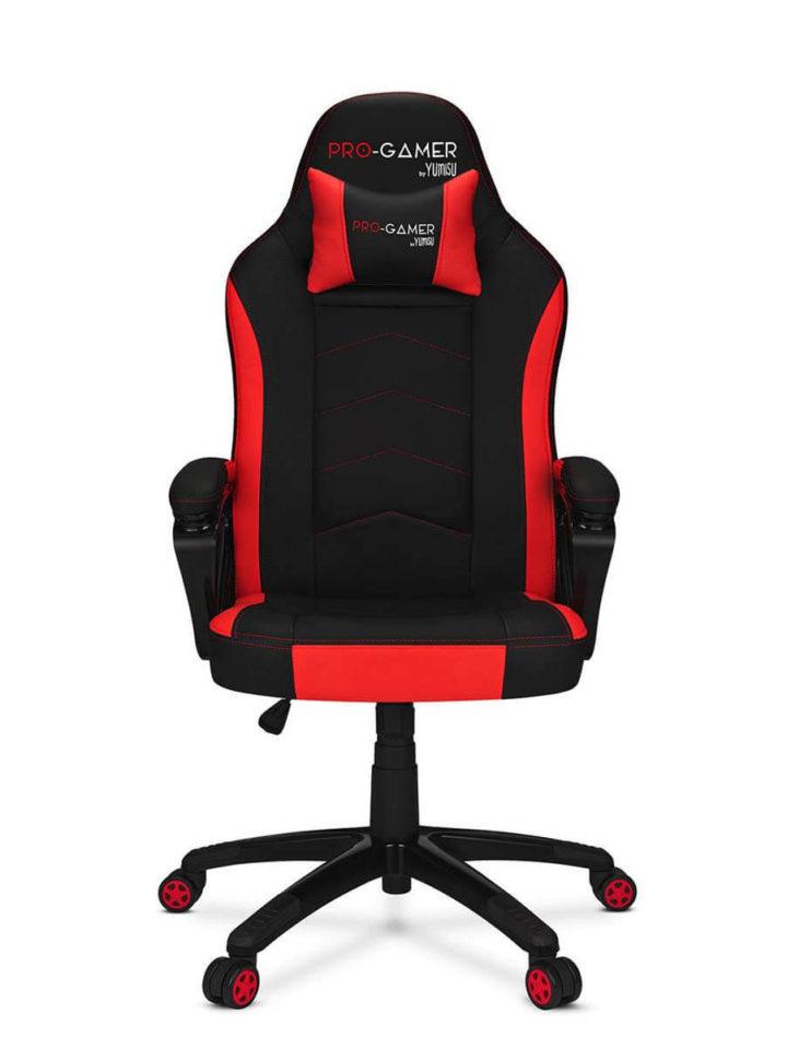 Fotel gamingowy ATILLA carbon czerwona