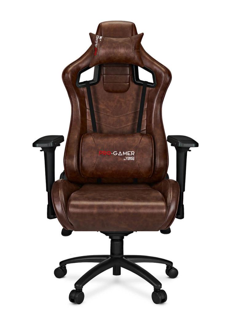 Fotel gamingowy XANO brąz