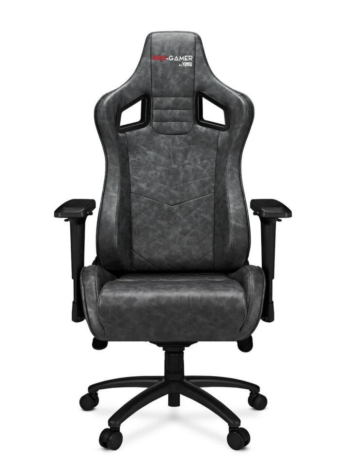 Fotel gamingowy XANO szary