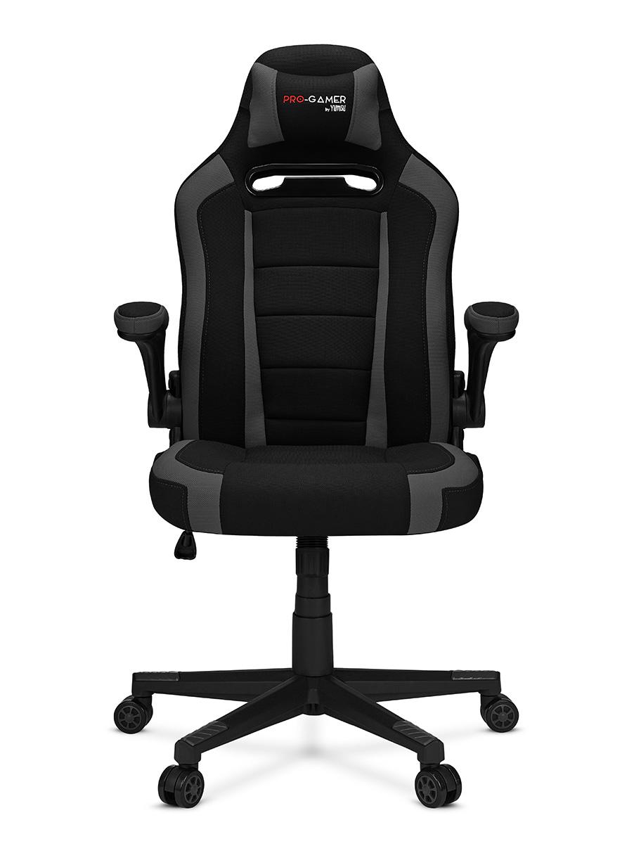 Fotel gamingowy ATILLA+ szary Materiał