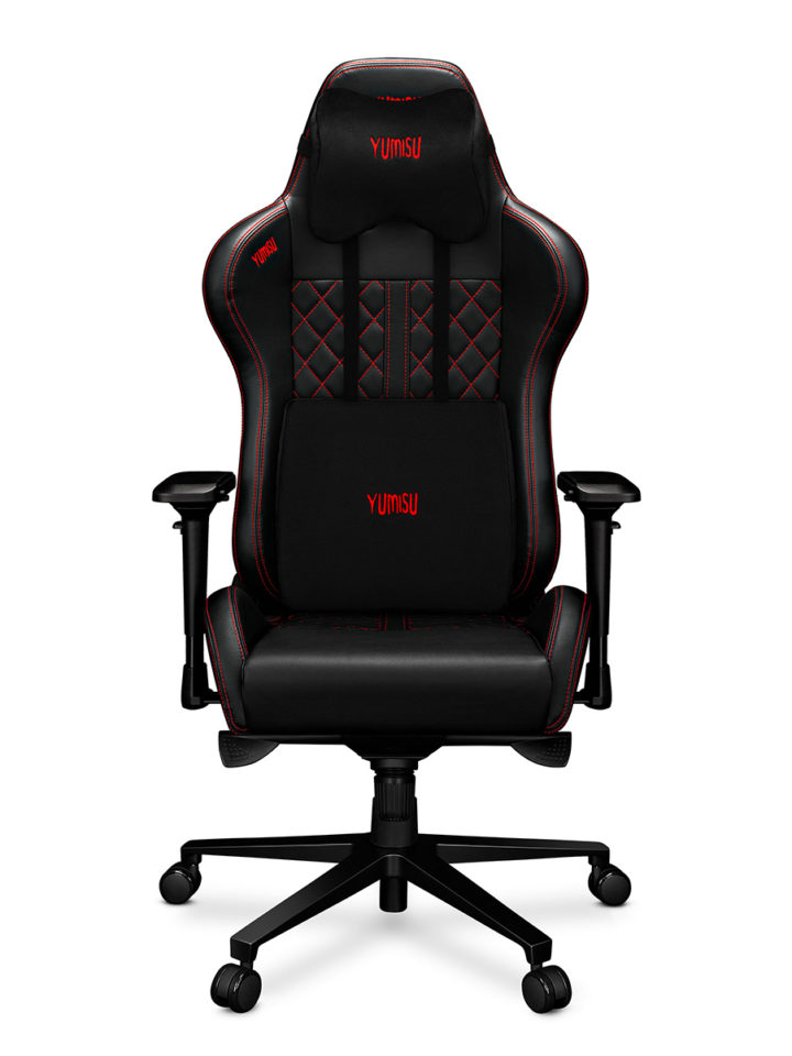 Fotel gamingowy YUMISU 2050 RED