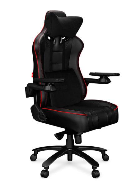 Fotel gamingowy YUMISU 2049 czerwony