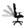 Fotel gamingowy AGURI czarny