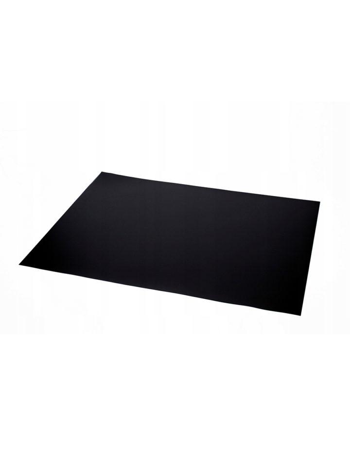 Mata ochronna pod fotel 140x100cm czarna